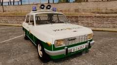 Wartburg 353 W Deluxe Polizei