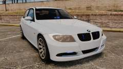 BMW 330i Unmarked Police [ELS] para GTA 4