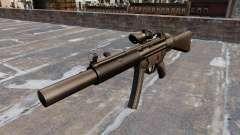 Pistola-metralhadora HK MP5SD2