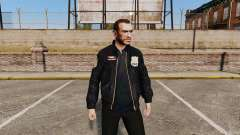 Jaqueta de polícia