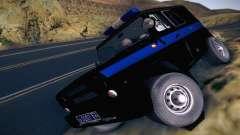 UAZ Hunter polícia