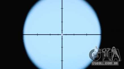 A nova visão do rifle para GTA San Andreas