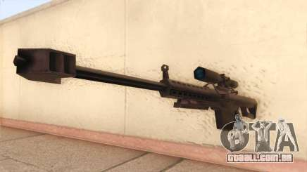 Barrett de Call of Duty MW2 para GTA San Andreas