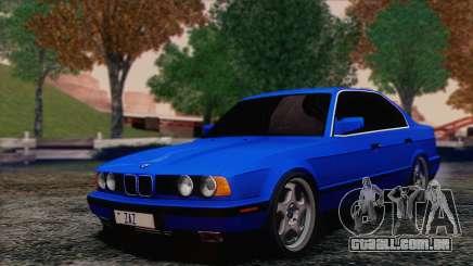 BMW 535i E34 Mafia Style para GTA San Andreas