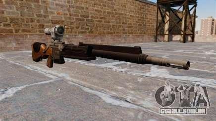 O rifle sniper FR F2 para GTA 4