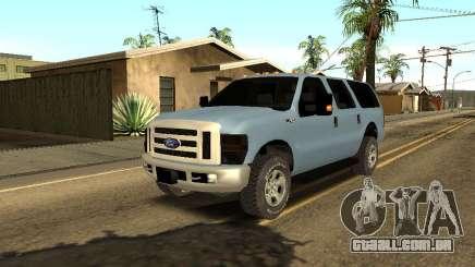 Ford Excursion para GTA San Andreas