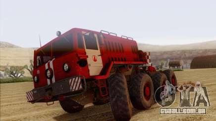 MAZ 535 bombeiro para GTA San Andreas