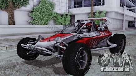 Buggy XCelerator XL para GTA San Andreas