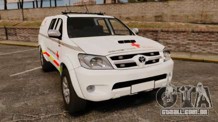 Toyota Hilux French Red Cross [ELS] para GTA 4