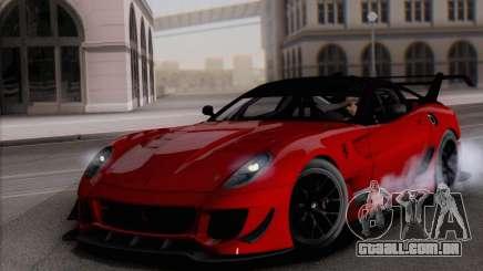 Ferrari 599XX Evolution para GTA San Andreas