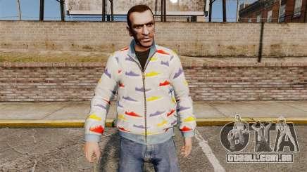 Blusão-sapatos - para GTA 4