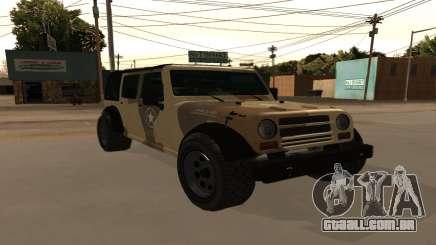 Crusader GTA 5 para GTA San Andreas
