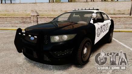 GTA V Vapid Steelport Police Interceptor [ELS] para GTA 4