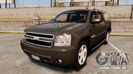 Chevrolet Suburban Slicktop 2008 [ELS] para GTA 4