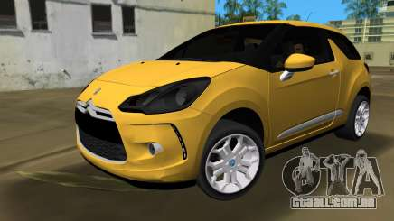 Citroën DS3 2011 para GTA Vice City