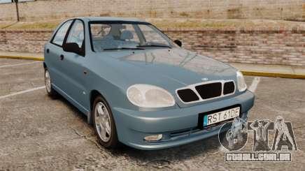 Daewoo Lanos 1997 PL para GTA 4