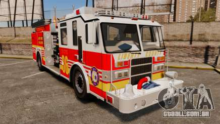 Firetruck LCFR [ELS] para GTA 4