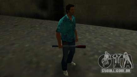 Taco de beisebol manchada de sangue para GTA Vice City