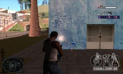 C-HUD Belenky para GTA San Andreas terceira tela
