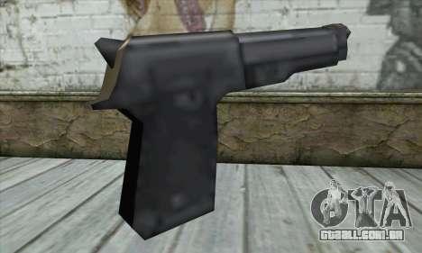Beretta para GTA San Andreas segunda tela