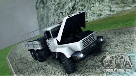 Inicialmente, o 6322 para GTA San Andreas vista superior