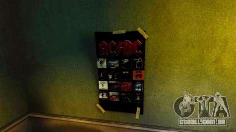 Novos cartazes no apartamento da Novela para GTA 4 sexto tela