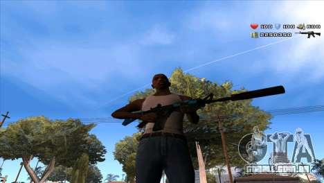 C-Hud by Stan Gomez para GTA San Andreas