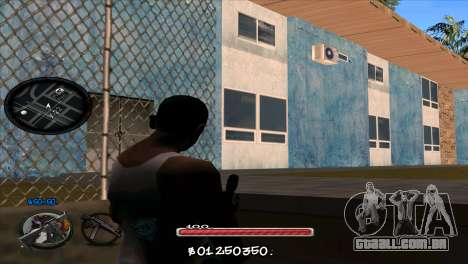C-HUD by Jayson Wallace para GTA San Andreas segunda tela