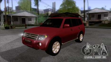 Mitsubishii Pajero IV para GTA San Andreas