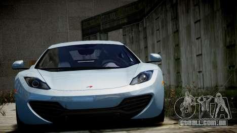 McLaren MP4-12C para GTA 4