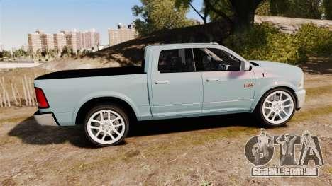 Dodge Ram 3500 Heavy Duty para GTA 4 esquerda vista