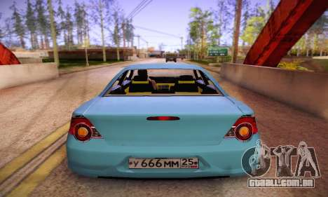Volga Siber 2.5 AT Restyling para GTA San Andreas vista direita