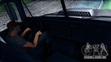 Inicialmente, o 6322 para GTA San Andreas vista interior