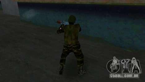 Lutador Alfa Antiterror para GTA Vice City por diante tela