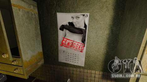 Novos cartazes no apartamento da Novela para GTA 4 quinto tela