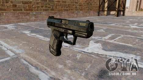 Pistola semi-automática de Walther P99 para GTA 4