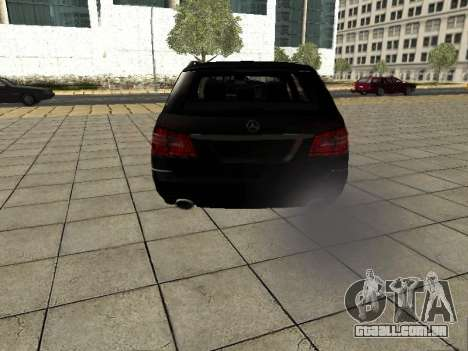 Mercedes-Benz w212 E-class Estate para GTA San Andreas vista direita