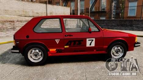 Volkswagen Rabbit GTI 1984 para GTA 4 esquerda vista