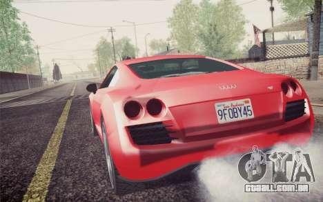 GTA 5 Obey 9f para GTA San Andreas esquerda vista