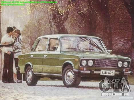 Arranque telas Soviética Carros para GTA San Andreas segunda tela