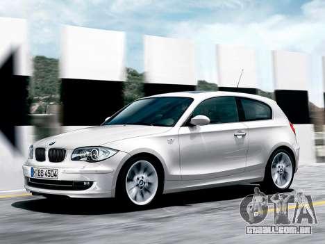 Arranque telas BMW 116i para GTA 4