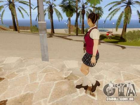 Hanako para GTA San Andreas sétima tela