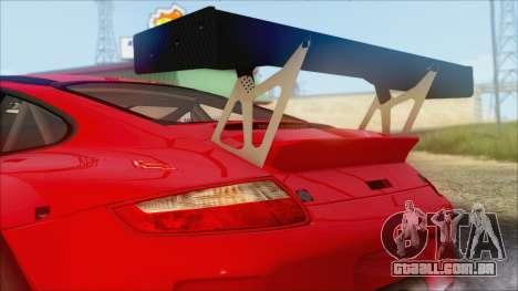 Porsche 911 GT3 RSR para GTA San Andreas traseira esquerda vista