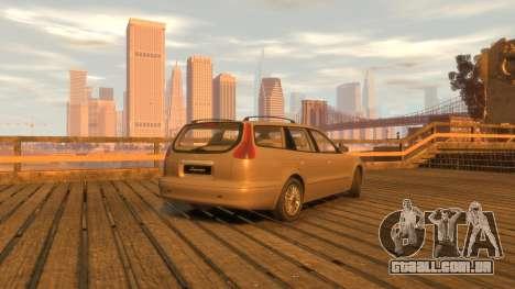 Daewoo Leganza Wagon para GTA 4 traseira esquerda vista