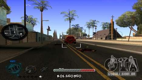 C-HUD by Jayson Wallace para GTA San Andreas terceira tela