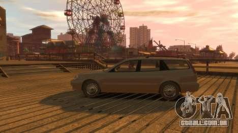 Daewoo Leganza Wagon para GTA 4 vista de volta