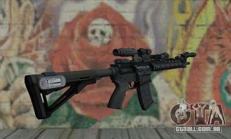 OBR Warfighter-Larue do Medal of Honor para GTA San Andreas segunda tela