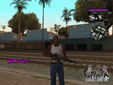 C-HUD Ghetto Life para GTA San Andreas