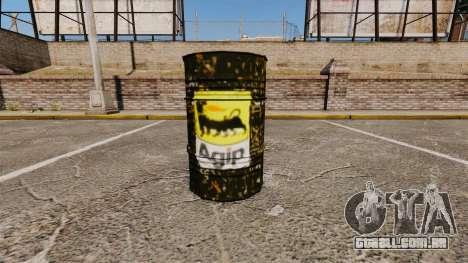 Novos livros de colorir para barris para GTA 4 segundo screenshot