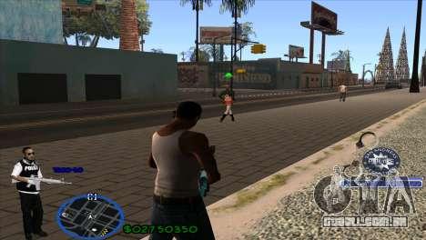 C-HUD Police para GTA San Andreas segunda tela